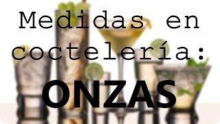 Onzas Oz Medidas En Cocteleria Drinking Rules