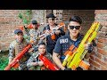 LTT Game Nerf War Warriors SEAL X Nerf Guns Fight Inhuman Group Hunters And Rescue Failed