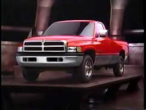 Dodge Ram Pick Up Trucks 1994 Commercial - The Rules Have Changed