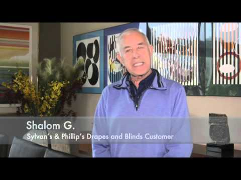 Shalom testimonial A for Sylvans and Philips Draps & Blinds
