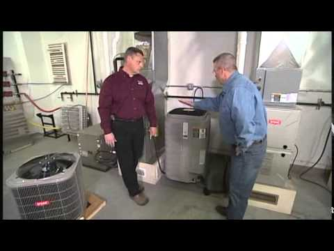 Replacing a Furnace & Central Air Conditioner - Bryant