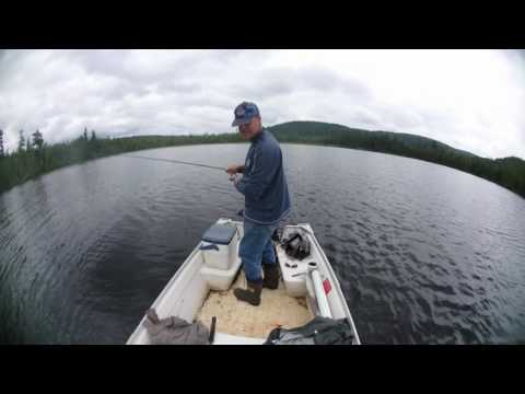 ATV ride and brook trout fishing with my new Olympus TG-Tracker 4K. Mastigouche