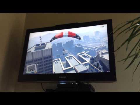 GTA V Parachute sprong!