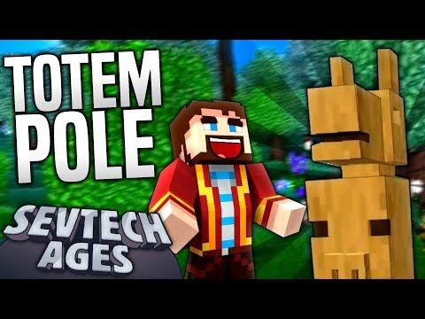 Minecraft - TOTEM POLE - SevTech Ages #14