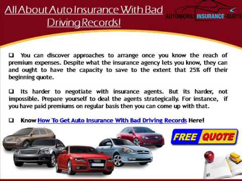 How To Qualify For Bad Driving Car Insurance For Young Drivers