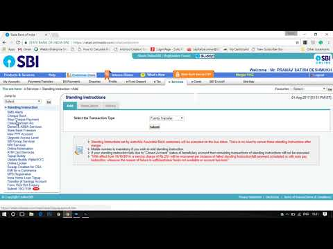 How to Apply IPO ASBA Application in SBI online (hindi)