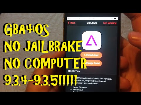 How to install GBA4iOS 9.3.4-10.3 (NO JAILBREAK OR COMPUTER!!)