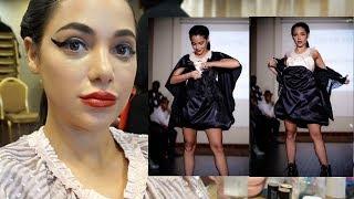 i ruined a fashion show ugh +  footage