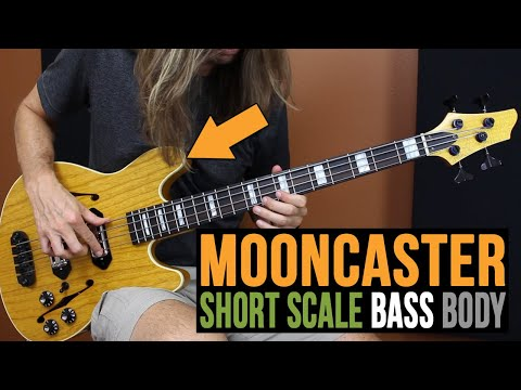 Warmoth Mooncaster Short Scale Bass Body - PakVim net HD