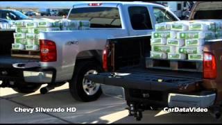 Chevy Silverado Hd Pickup - Payload Test Vs.ford Superduty Video