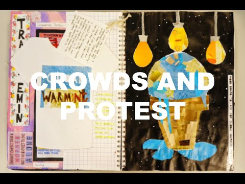 BTEC level 3 Art & Design | Crowds and Protest