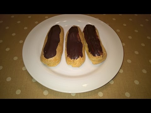 Chocolate Eclairs no Butter