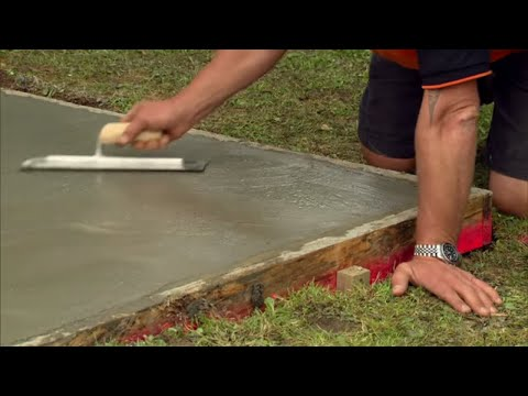 How to Lay a Concrete Pad | Mitre 10 Easy As
