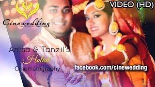 Anisa and Tanzils Holud Shondha | Cinewedding By Nabhan Zaman | Wedding Cinematography | Bangladesh