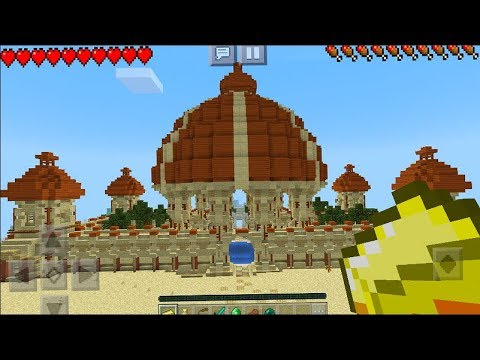 The CRAZIEST Seed Ever - Ancient Palace Seed in Minecraft PE (Pocket Edition)