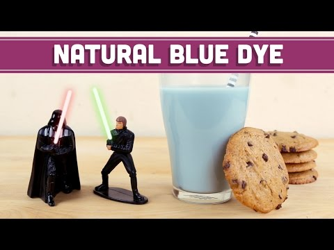 Natural Blue Dye Food Coloring - STAR WARS! May the 4th be with you - Mind Over Munch