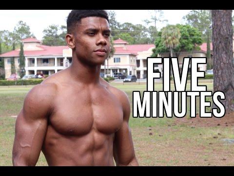 5 min. Home Chest Workout #2 - Follow Along