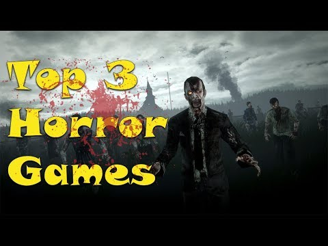 Top 3 Horror Mobile Games 2018! [Just Under 50 MB]