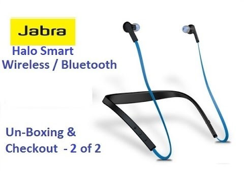 Jabra Halo Smart bluetooth earphones  2