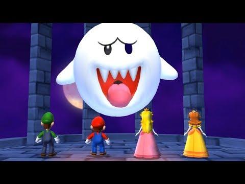 Mario Party 9 - Boo's Horror Castle (Luigi Gameplay/Hard Difficulty)