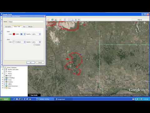 Draw Polygons in Google Earth