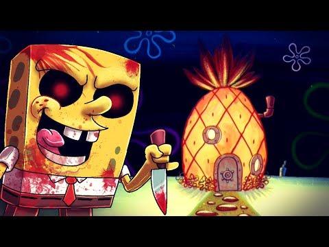 Minecraft | SPONGEBOB.EXE IS IS A PSYCHO - Maze Challenge! (Spongebob vs Bikini Bottom)