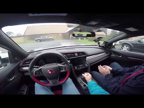 Driving a Honda Civic Type R for the First Time