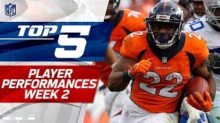 Top 5 Player Performances of Week 2 | NFL Highlights