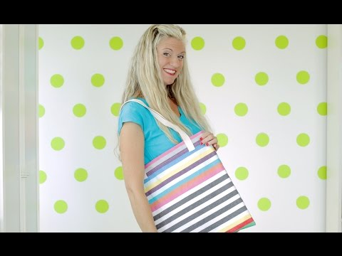 How to sew a Tote Bag--two ways