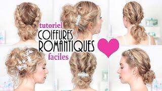 Tutoriel 4 Coiffures Simples Rapides Cheveux Boucles Conseils