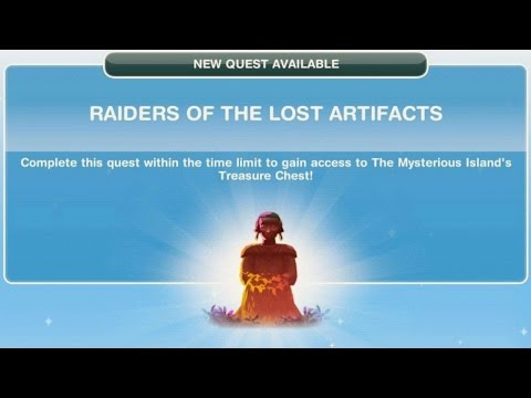 Sims Freeplay | Raiders Of The Lost Artifacts Quest