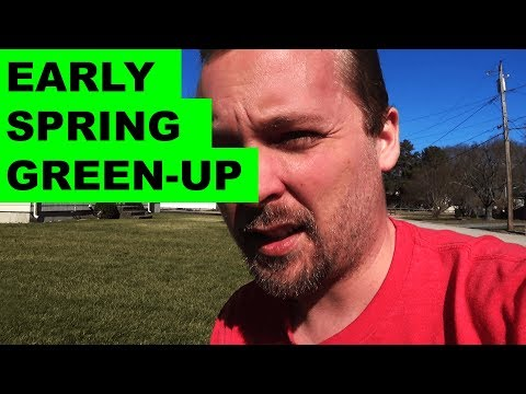 Early Spring Green-Up Tips and Tricks