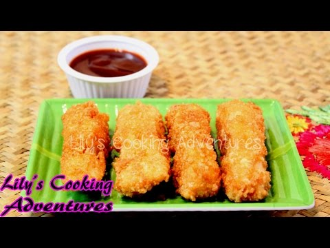 How To Make Homemade Fish Sticks | Fish Sticks Recipe | Fish Nuggets (ca chien gion)