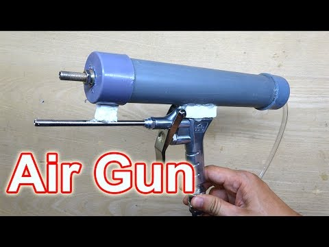 How to make Air Gun at home Easy & Powerful