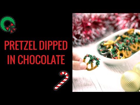 How to make chocolate covered pretzels in just 10 minutes