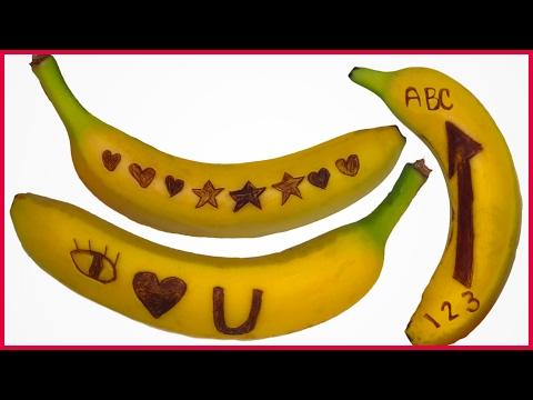 DIY How to Make Secret Spy Banana Messages