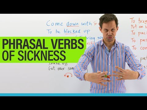 15 PHRASAL VERBS about sickness in English
