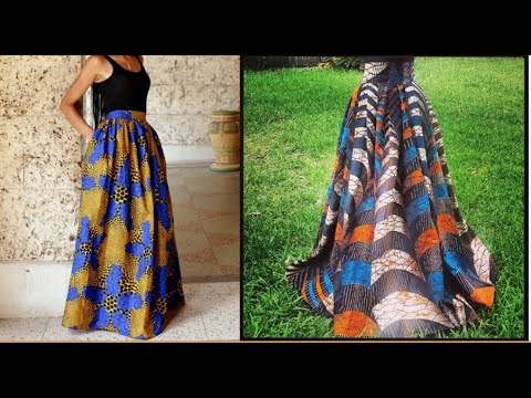 DIY: Maxi skirt- No Sewing Needed
