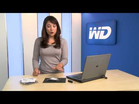 Install a WD Hard Drive in Your Laptop