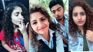 Oru Adhaar Love Noorin Shereef Cute Latest Trending Comedy TikTok Videos   Roshan   Noorin