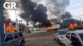 Atacan Culiacán como en guerra
