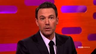 Christian Bale's Batman Advice for Ben Affleck - The Graham Norton Show