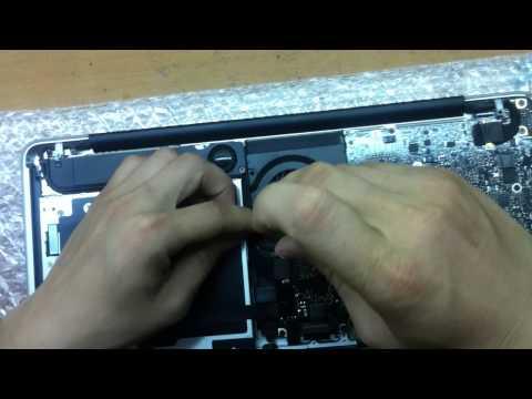 Thay Quạt CPU Macbook Pro A1278