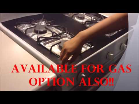 Never clean your stove top again!! (Awesome)