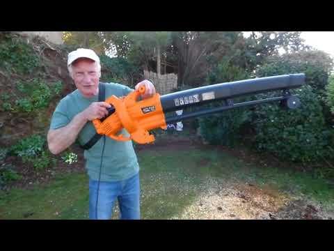 The VonHaus leaf blower