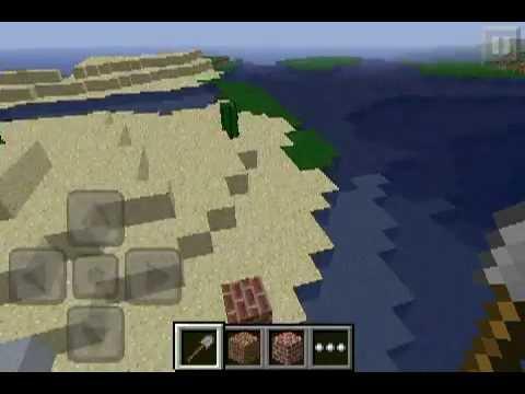Minecraft PE UKSSPY's Test World (?) - 100000000 blocks from spawn