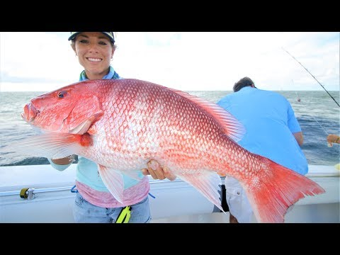 OFFSHORE FISHING LOUISIANA OIL RIGS FOR BULL REDFISH AND BIG RED SNAPPER