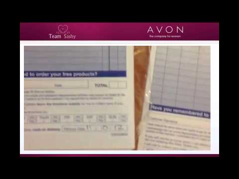AVON Rep - How to fill in your order forms