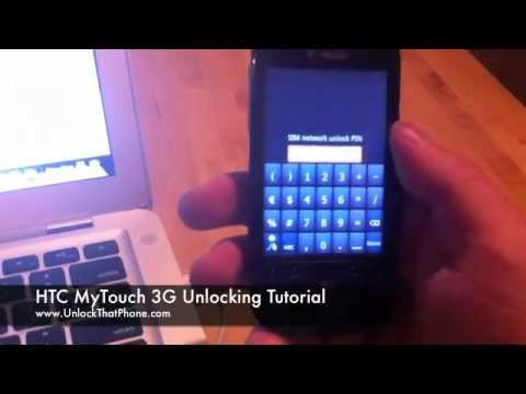 How to Unlock HTC MyTouch 3G with Code + Full Unlocking Tutorial!! tmobile rogers o2 fido orange red