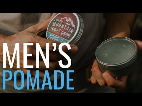 Natural Pomade by Rocky Mountain Barber Company
